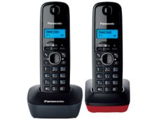 Радиотелефон Panasonic KX-TG1612RU3 Grey red
